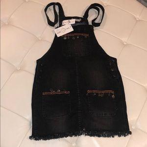 LF Denim Overall Dress